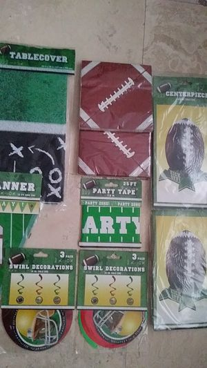 Game day party decorations for Sale in Hialeah, FL