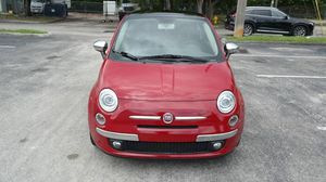 2012 Fiat 500 Lounge Hatchback for Sale in Hallandale Beach, FL