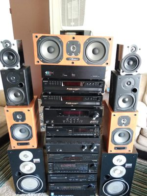 Selling all my audio from my business start at 5$ and up READ ENTIRE DETAILS for Sale in Woodhaven, MI