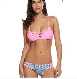 ekouaer tankini strappy padding bikini doublesided for Sale in Frostproof, FL