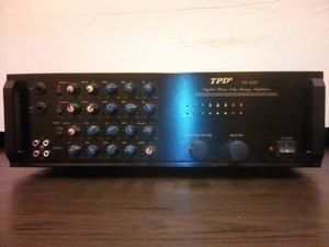 TPD PD-4020 Digital Stereo Echo Mixing Amplifier for Sale for Sale in San Jose, CA