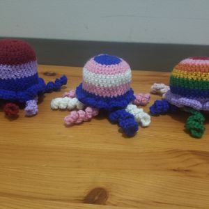 Pride Octopus Plushie for Sale in Portland, OR