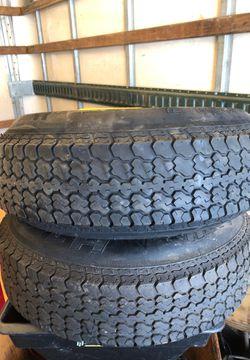Utility trailer tires for Sale in Addison,  IL
