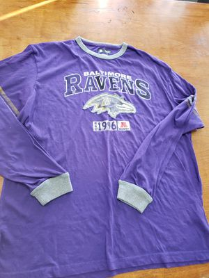 Baltimore Ravens long sleeve shirt XL for Sale in Paramount, CA
