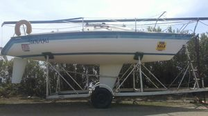 """$2,800 "" 1982 SANTANA 25 ft (speed) SAILBOAT for Sale in Stockton, CA"