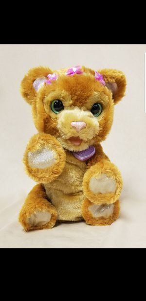FurReal Friends Woodland Sparkle Peanut Butter, My Baby Bear Cub Interactive toy. $15.00 - firm for Sale in Scottsdale, AZ