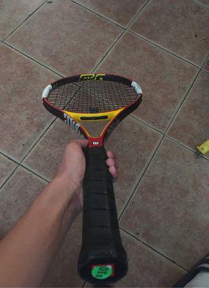 Wilson ncode Pro 95 18x20 tennis racket for Sale in Bakersfield, CA