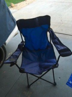 Folding chair for Sale in San Marcos, CA