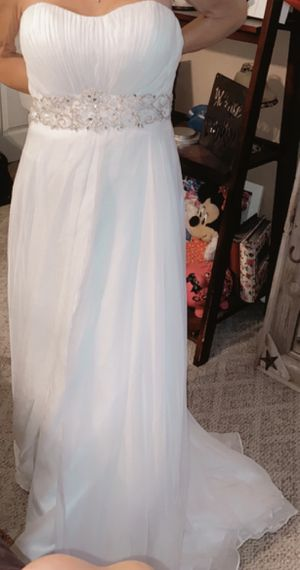 Wedding Dress and Flower Girl Dress Both New with tags for Sale in La Habra Heights, CA