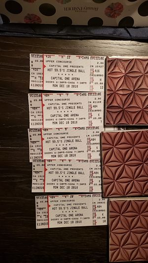 Jingle ball tickets capital one arena for Sale in Springfield, VA