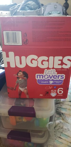 Huggies baby diapers for Sale in Lancaster, CA