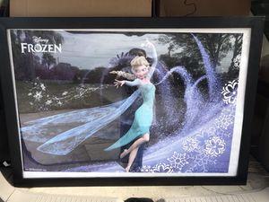 Frozen framed print for Sale in Tampa, FL