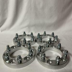 6x5.5 Wheel Spacers-Silver for Sale in Twentynine Palms, CA
