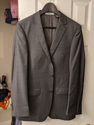 DKNY jacket Size 40 with Perry Ellis Vest for Sale in Hayward, CA