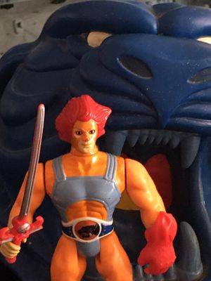 Vintage Thundercats Lion-o Action Figure Toy Collection with Bank. for Sale in El Paso, TX