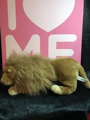 AO Schwartz 25 inch plush Stuffed lion! New! for Sale in Savannah, GA