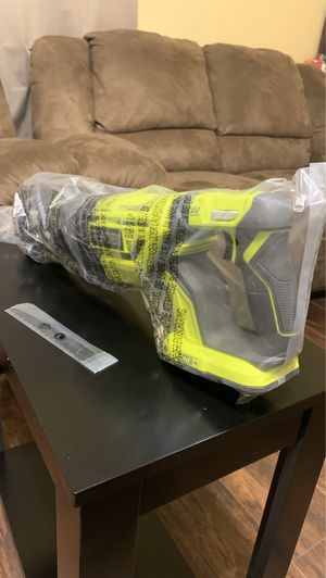 Ryobi 18volt cordless brushless reciprocating saw with wood cutting blade (tool only) for Sale in Ceres, CA