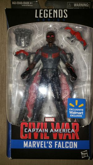 Marvel Legends Civil War Captain America Falcon for Sale in Chicago, IL