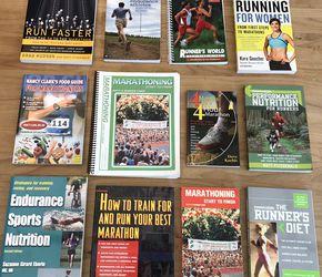 "12 Running/Marathon/Training/Books Including Autographed Copy Kara Goucher's ""Running For Women"" for Sale in Hillsboro,  OR"