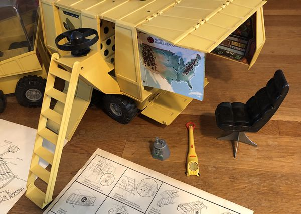 "Vintage 1972 GI Joe ""Mobile Support Vehicle"" Set with Original Box!"