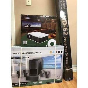 """Apollo 1/2 XD 5120 LED Smart Projector 