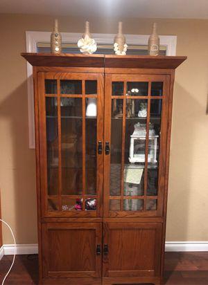 Glass Shelf with storage for Sale in Auburn, WA