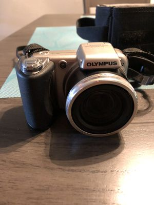 Olympus SP-600UZ 12.0 MP Compact Digital Camera - Silver for Sale in Riverside, CA