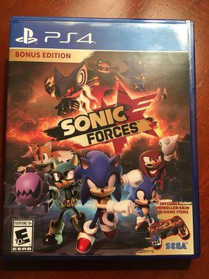 30dafa8e607 Sonic forces for Sale in El Dorado Hills