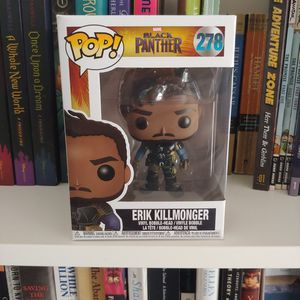 Erik Killmonger FunkoPop for Sale in Jackson Township, NJ