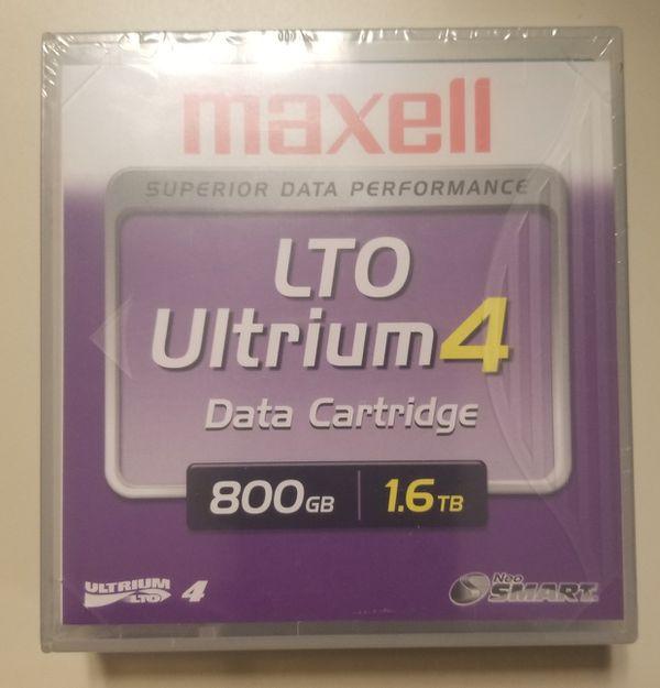 Maxwell LTO Ultrium 4 Data Cartridges 800/1.6TB