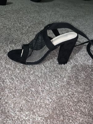 Black heels women size 8 for Sale in Columbus, OH