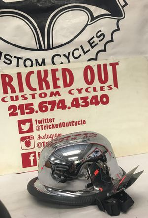 Daytona chrome half helmet non DOT for Sale in Hatboro, PA