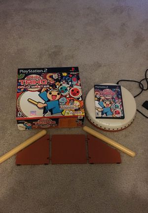 Taiko Drum Master PS2 Great Condition for Sale in Glen Burnie, MD
