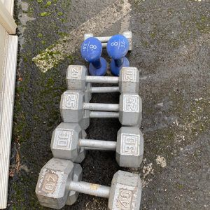 Dumbbells Sets (5-8-20-25-30-40) for Sale in Troutdale, OR