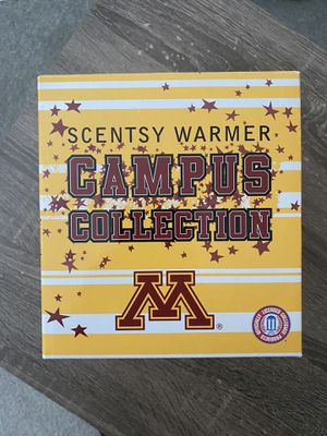 Scentsy Warmer (large) Univ or Minnesota collection for Sale in North Richland Hills, TX