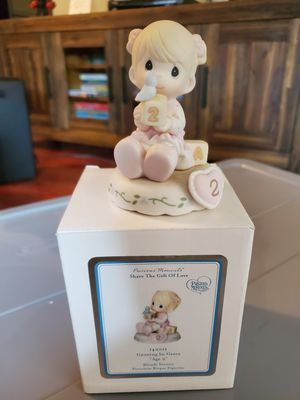 New precious moments growing in grace age 2 for Sale in San Dimas, CA
