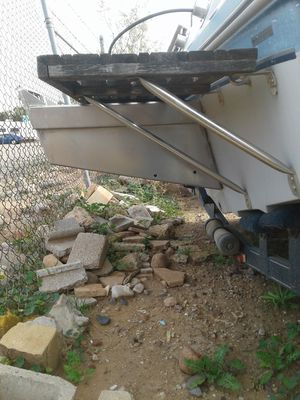 Boat and transom extention for Sale in Mesa, AZ