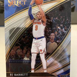 Rj Barrett Court side Rookie Card Select Basketball Nba for Sale in Alamo, CA