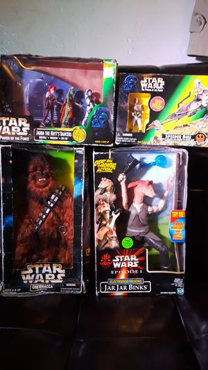 Star wars action figure set for Sale in San Diego, CA