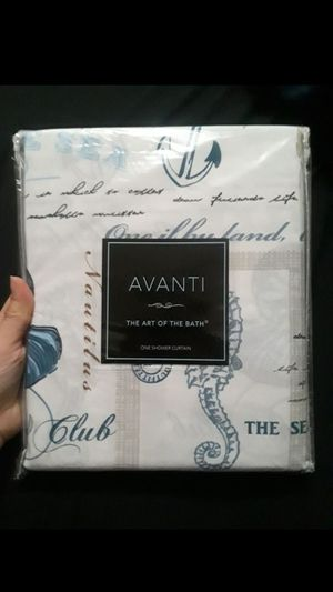 Bed Bath and Beyond Avanti Island View Collection Shower Curtain Home Decor/Bathroom/Restroom for Sale in Bell Gardens, CA