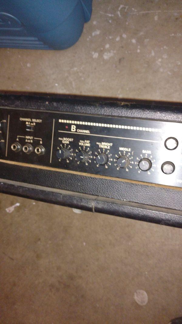 Yamaha p a mixer guitar amp