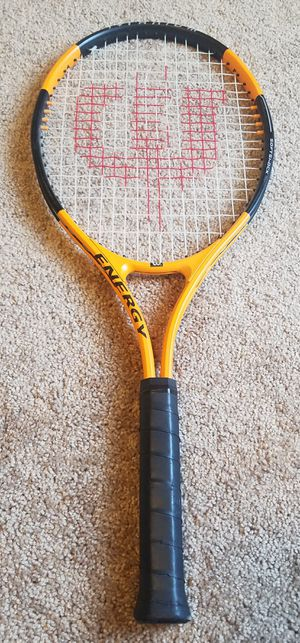 Wilson tennis racket with cover for Sale in Tuscola, TX