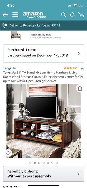 Move sale (computer desk, TV stand) for Sale in Las Vegas, NV