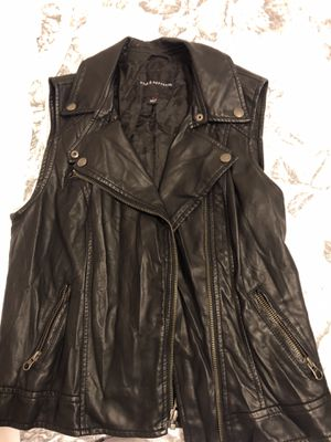 Comfortable imitation leather vest for Sale in Winter Haven, FL