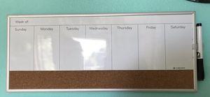 Weekly Whitboard/Corkboard for Sale in Ridgefield, WA
