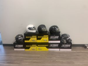 We finance Motorcycle helmets 100 days interest free for Sale in Irving, TX