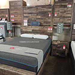BEDROOM SET: QUEEN BED +DRESSER+NIGHTSTAND SKU#TCB200-SET for Sale in Santa Ana,  CA