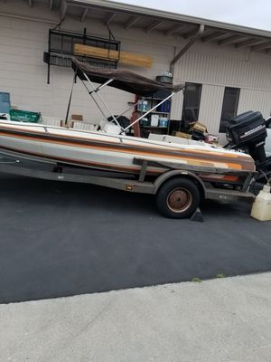 1984 cee bee avenger 18ft bass boat for Sale in Stanton, CA