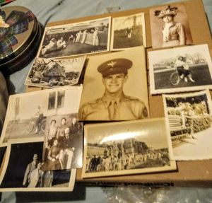Lot of Antique Photographs and Vintage Postcards for Sale in Albuquerque, NM