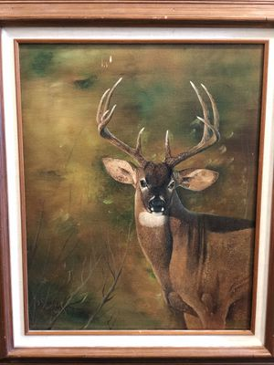 Majestic Stag Painting by JE Whaley for Sale in Seattle, WA